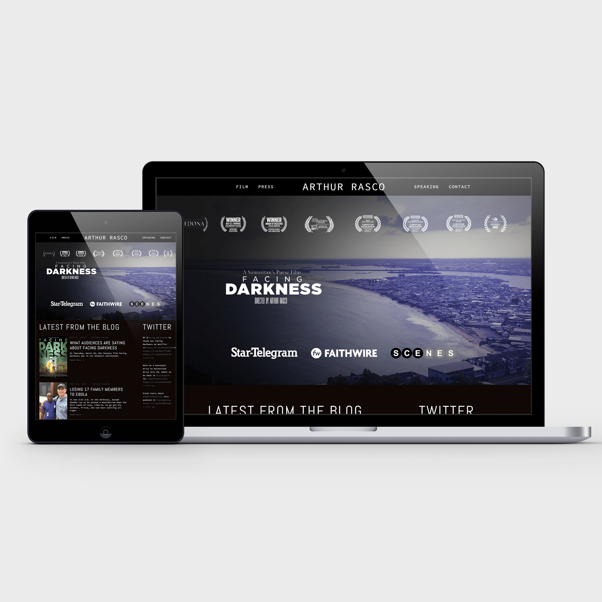 arthur rasco web design portfolio